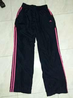 💜 Adidas Navy Blue Pink Training Pants