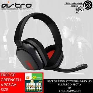 ASTRO Gaming A10 Gaming Headset FOR PC and Playstation (Blue & Red)