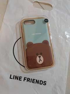 BN Authentic Line Friends Iphone 7 plus case
