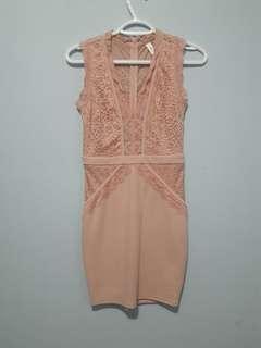 M Boutique Pink Lace Dress