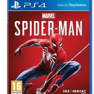 PS4 Marvel Spiderman 蜘蛛俠 (中英文)