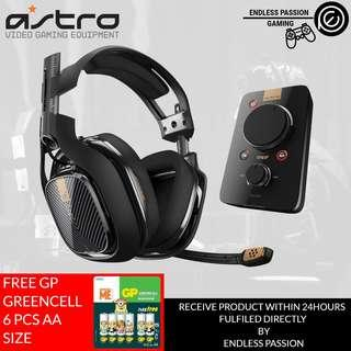 ASTRO Gaming A40 TR Headset + MixAmp Pro TR FOR PC, MAC Also compatible with PS4, Switch