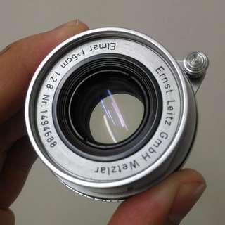 Leica Collapsible Elmar 5cm f/2.8
