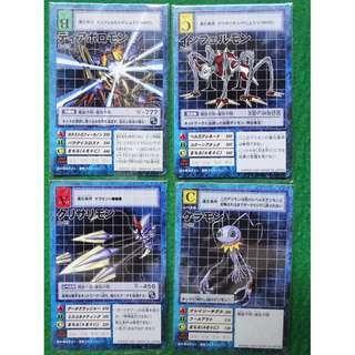 Diaboromon Evo Set + Free 5 Random Cards.