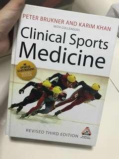 Clinical sport medicine