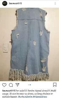Stylish Denim Dress