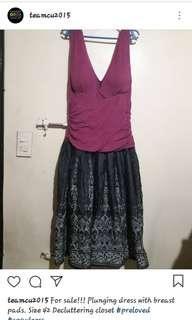 Swxy Plunging Dress