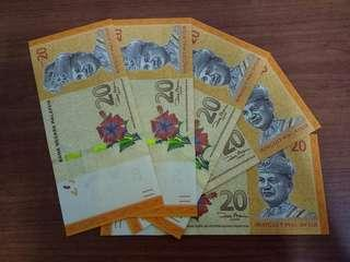 Malaysia notes RM20