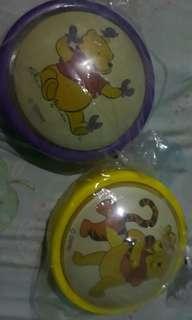 Winnie the Pooh Lamp 2pcs