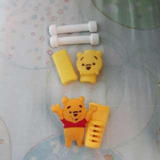 Winnie the Pooh Cable Cord Protector 2pcs