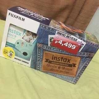 Instax Mini 9 Denim Package