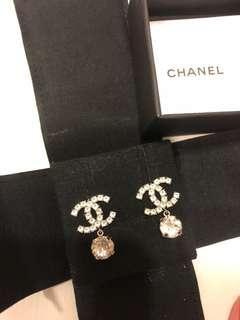 Chanel logo 耳環