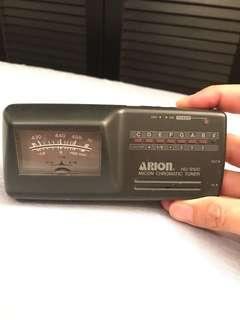 Arion micon chromatic tuner HU9100 Made in Japan