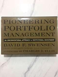 Pioneering Portfolio Management : An Unconventional Approach to Institutional Investment. [Hardcover] by Swensen, David F.