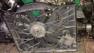 Mercedes w220 radiator fan complete