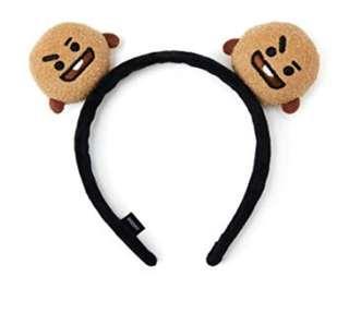 BT21 shooky headband