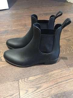 Sam Edelman 'Tinsey' ankle rain boot - size 7 - worn once