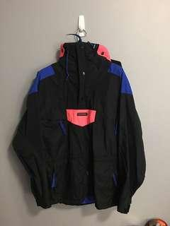 90s Columbia pullover jacket