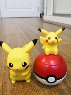 Pikachu Figurines