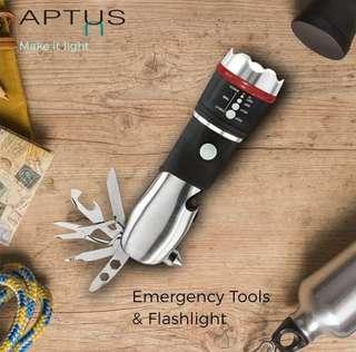 Aptus Emergency Tools & Flashlight