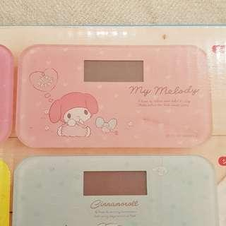 Brand New Sanrio My Melody Body Weighing Scale