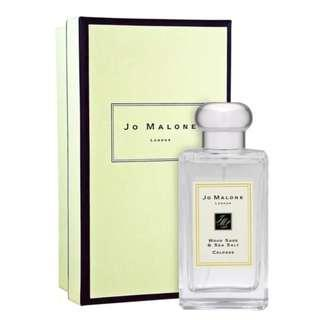 🚚 Authentic Jo Malone Wood Sage and Sea Salt Cologne 50ml with GiftBox