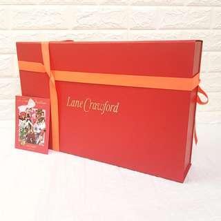 连卡佛盒套 ♦️🔖Beautiful Lane Crawford Gift Box Set🔖♦️ (大号 Big)