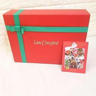 连卡佛盒套 ♥️Lovely Lane Crawford Gift Box Set♥️ (中号 medium)