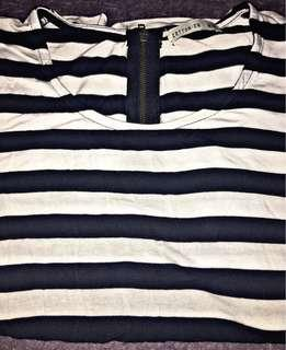 CO Stripes Cropped Top