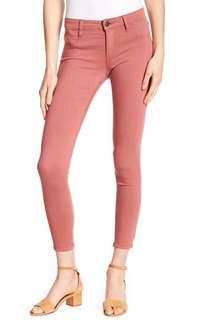 🚚 CO pink-peach mid rise jegging