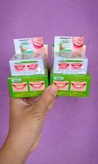 Pemutih gigi thailand 100% ori