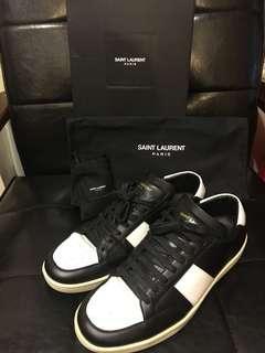 半價 Saint Laurent Paris YSL 男裝 波鞋 sneaker 全皮 leather shoes