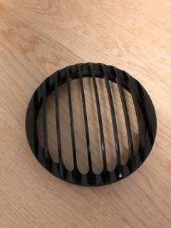 Black Aluminum Headlight Grill for Harley Davidson Sportsters