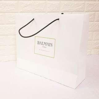 ✔名牌纸袋 Balmain Paper Bag