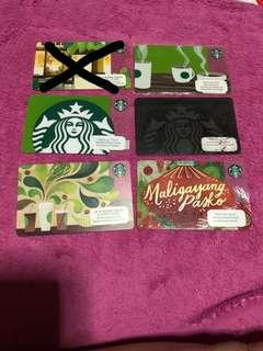 Starbucks PH cards