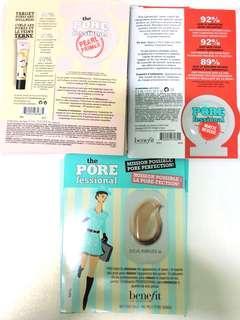 [試用裝] benefit the pore fessional pearl primer / matte rescue / pore minimizar sample