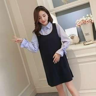 KHG106X Maternity-2pcs-Dress *