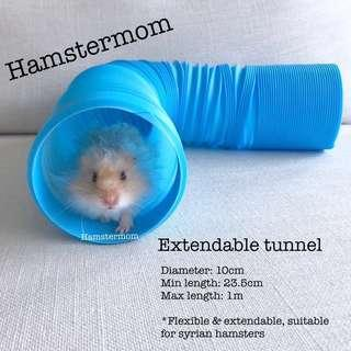 Tunnel Tube Toy for Syrian Hamster *Bendable & Extendable*