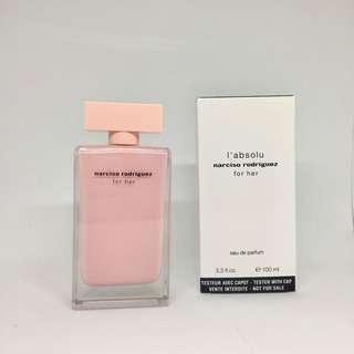 Narciso Rodriguez l'absolu 100ml (tester box)