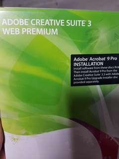 Adobe Creative Suite 4 web premium Student Pack for PC