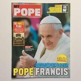 Pope Francis Grazia Korea August 2014 2nd Issue Magazine