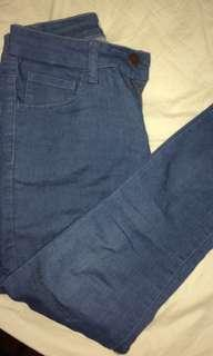 FOREVER 21 LOW WAIST JEANS
