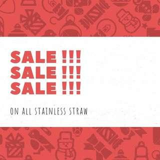 Stainless Straw SALE SALE SALE