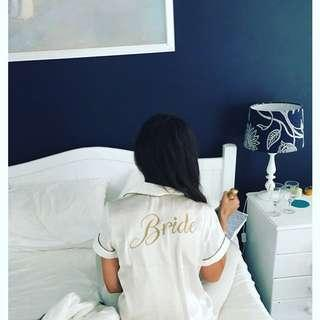 Bride Satin Pyjamas