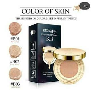 Bioaqua gold excuisite and delicate bb cushion + refill