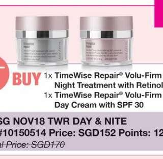 Mary Kay Timewise Repair Volu-Firm Night Treatment & Day Cream