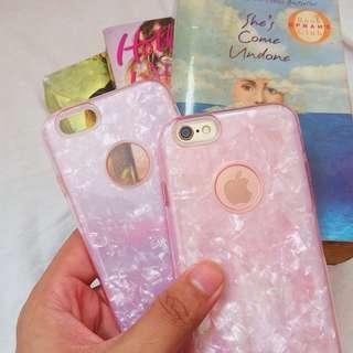 i6/6s Pink crystal case