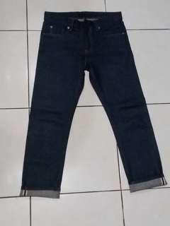 Uniqlo denim selvedge size 30