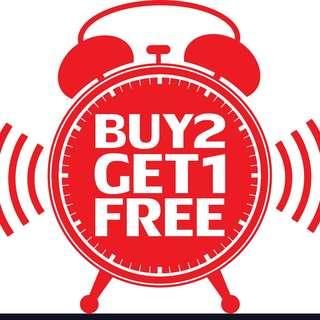 🚚 Buy ANY 2 items get 1 FREE!