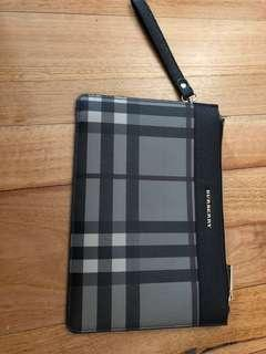 Burberry Medium Clutch in Leather